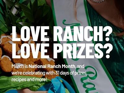 Win a Hidden Valley Ranch Refrigerator + 100 Bottles