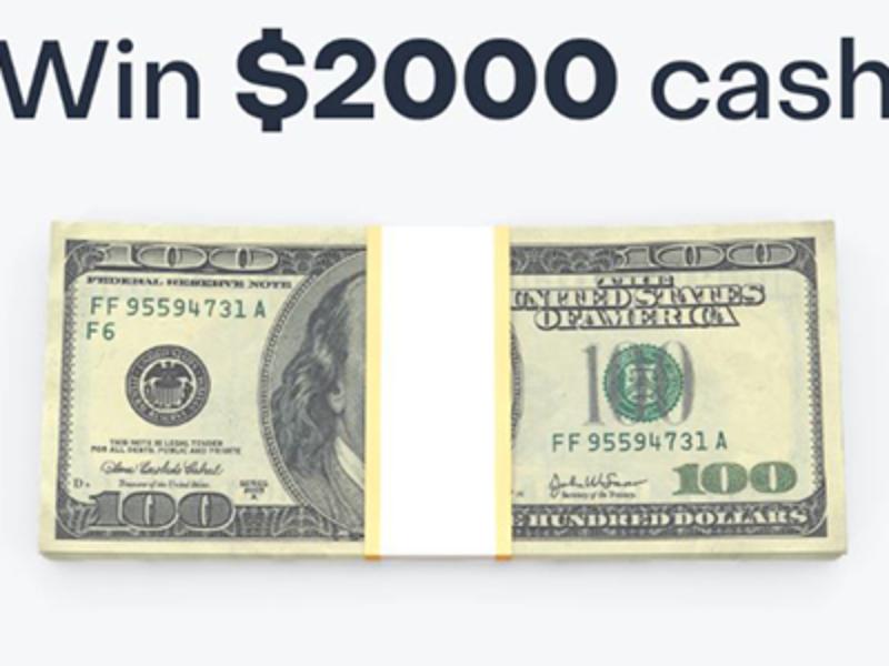 Win $2,000 Cash from Honeybee