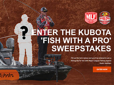 Win a Fishing Trip with MLF Pro Kevin VanDam