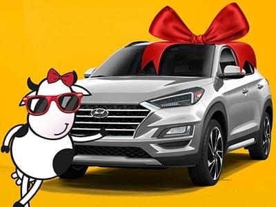 Win a 2021 Tucson Compact SUV
