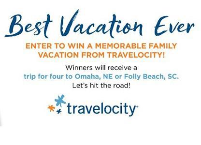Win a Trip to Omaha, NE or Folly Beach, SC