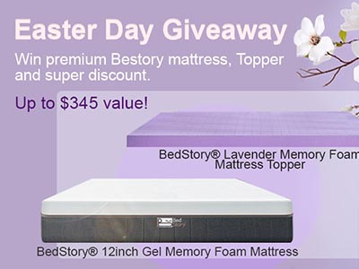 Win a BedStory Memory Foam Mattress