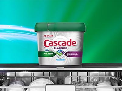 Win a Dishwasher + Year of Cascade Plantinum