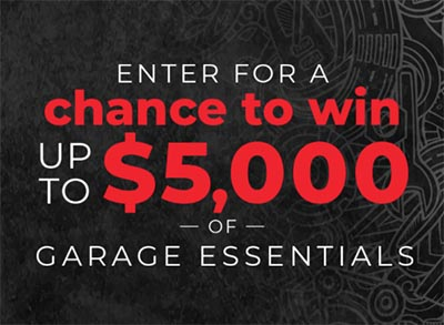 Win $5,000 in Garage Essentials from Discovery