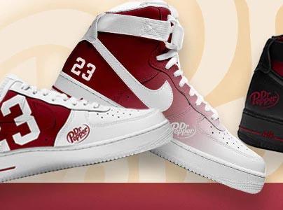 Win a Pair of Custom Dr Pepper Sneakers