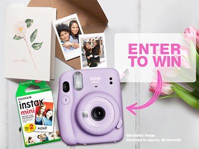Win a INSTAX Mini 11 Instant Camera