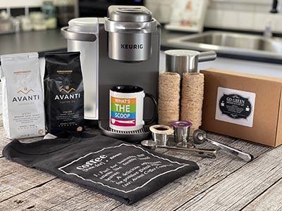 Win a Keurig Coffee Prize Package