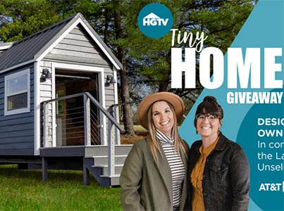 Win a Custom Tiny Home from HGTV