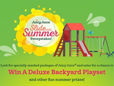 Win a Deluxe Backyard Playset from Juicy Juice