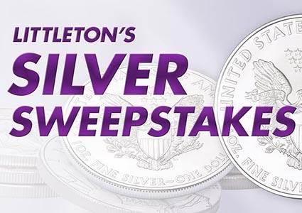 Win 50 American Eagle Silver Dollars