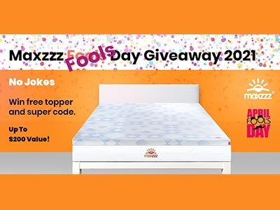 Win a Gel Memory Foam Mattress Topper
