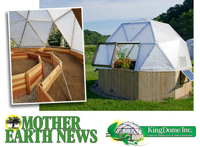 Win a King Dome Greenhouse