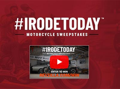 Win a 2022 Indian Chief Motorcycle