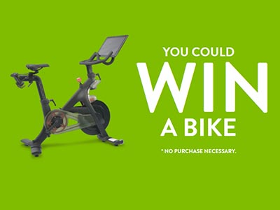Win a Peloton Bike+ and $405