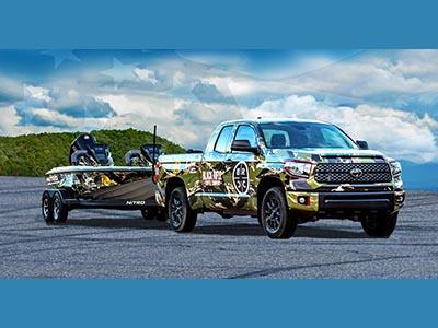 Win a 2021 Toyota Tundra Truck + 2021 Nitro Z19 Boat