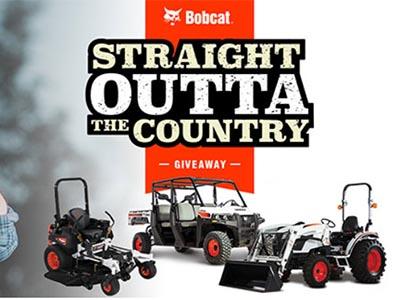 Win a Bobcat UTV, Tractor, or Mower