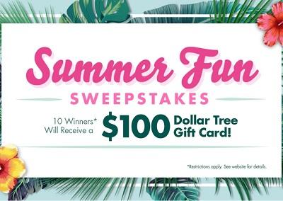Win a $100 Dollar Tree Gift Card