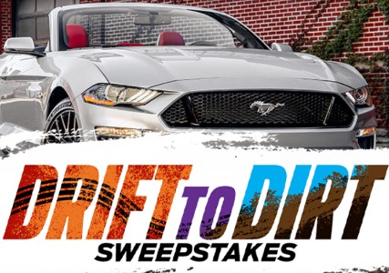 Win a Ford Mustang GT or Ford F-150 Raptor