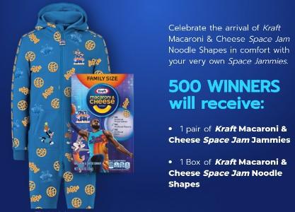 Win Space Jam Jammies from Kraft