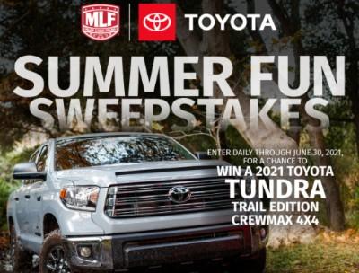 Win a Toyota Tundra Trail Edition Crewmax 4X4