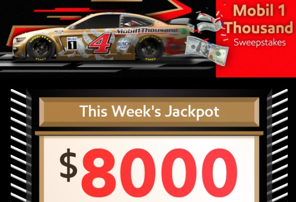 Win $15,000 Cash from Mobil 1