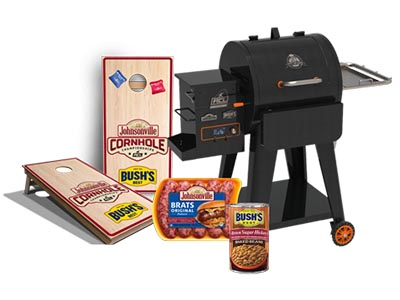 Win a Pit Boss Grill from Johnsonville Sausage