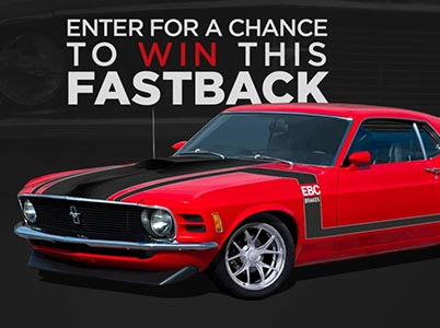 Win a Custom 1970 Ford Mustang