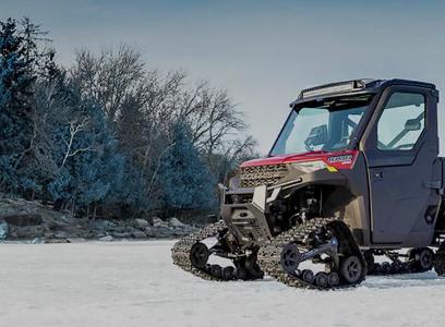 Win a 2021 Polaris Ranger XP 100 W/ Tracks & Trailer