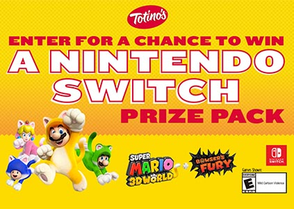 Win 1 of 30 Nintendo Switch Consoles