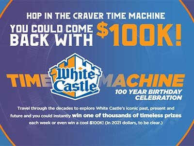 Win $100K from White Castle