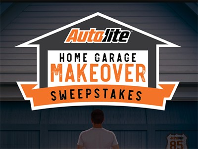 Win a Home Garage Makeover from Autolite