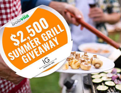 Win an IG Charcoal BBQ Mobile Grill from Bob Vila