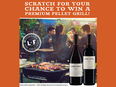 Win 1 of 5 Traeger Pellet Grills from Leese-Fitch