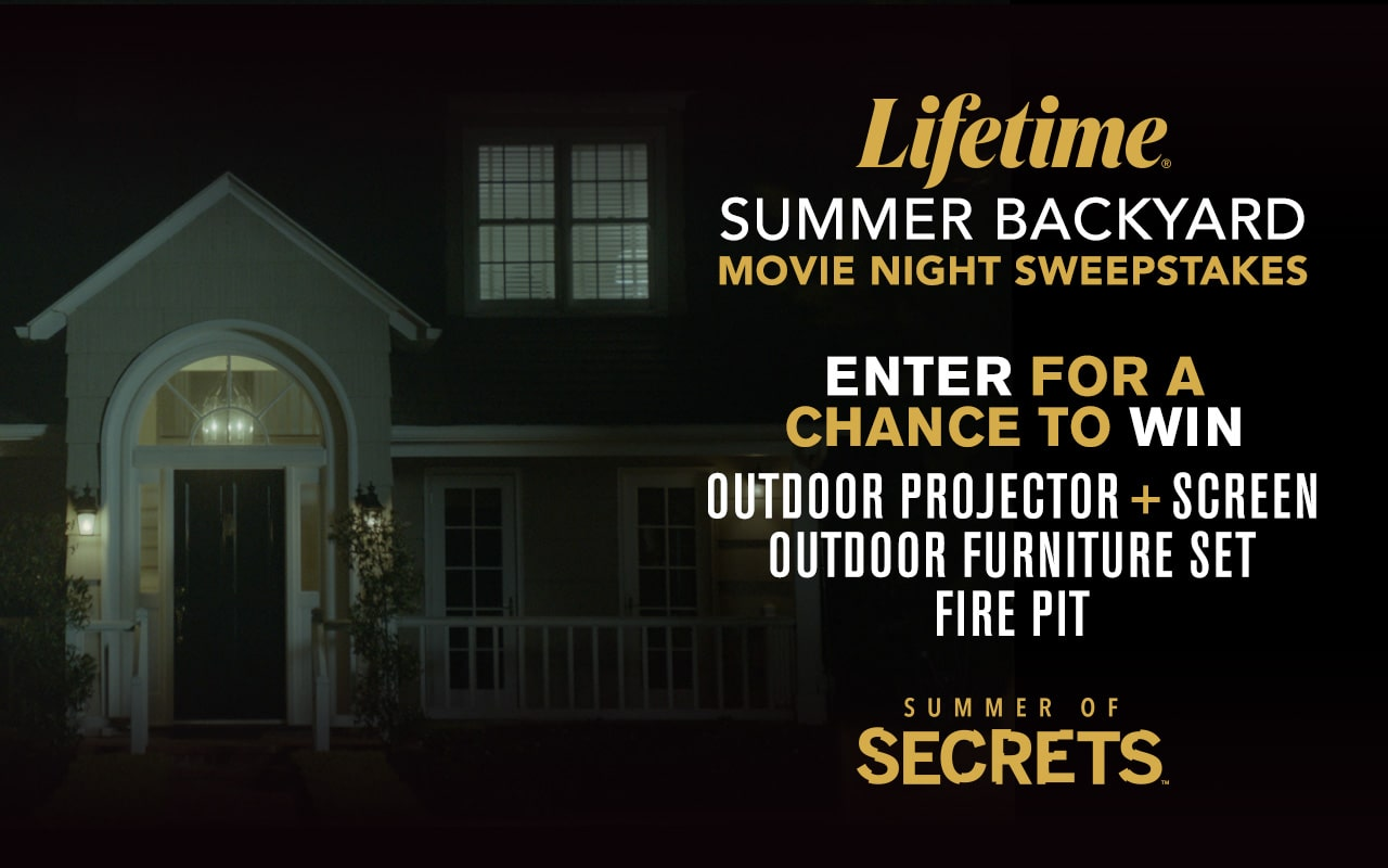 Win an Outdoor Projector, Furniture & Fire Pit from Lifetime