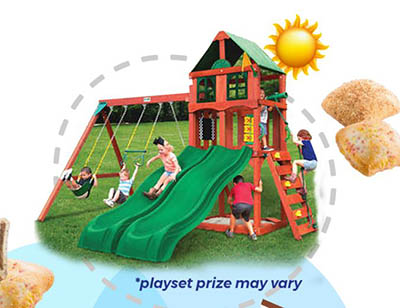 Win a Backyard Playground Set from Little Bites