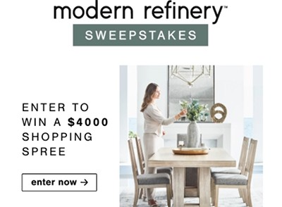 Win a $4K Ashley Furniture Shopping Spree