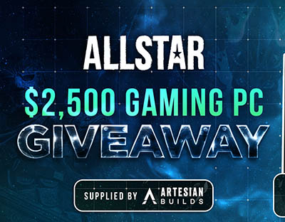 Win a $2,500 Gaming PC