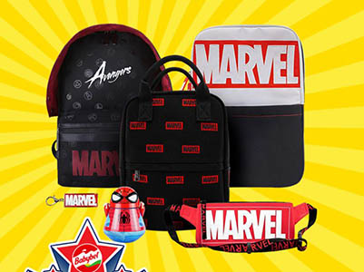 Win a Marvel Backpack from Babybel