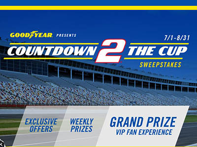 Win a VIP NASCAR Cup Series Experience