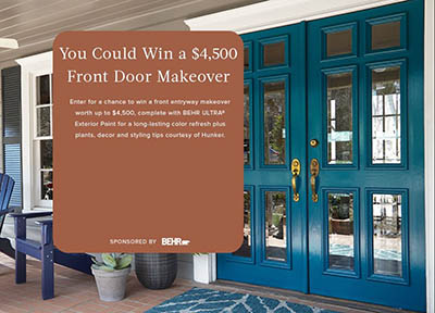 Win a $4,500 Front Door Makeover