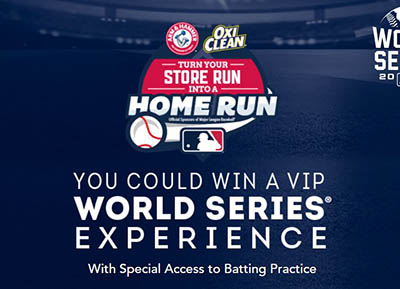 Win a VIP World Series Experience from OxiClean