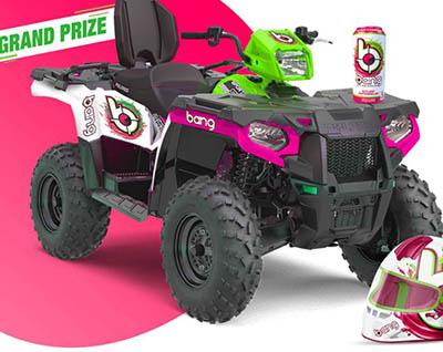 Win a Bang Energy Wrapped ATV