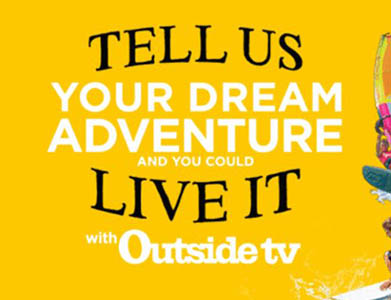 Win a $5,000 Adventure from Outside TV