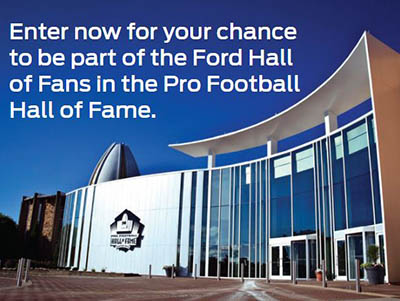 Win a Trip to Super Bowl LVI from Ford