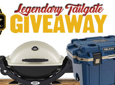 Win a Legendary Tailgate Package