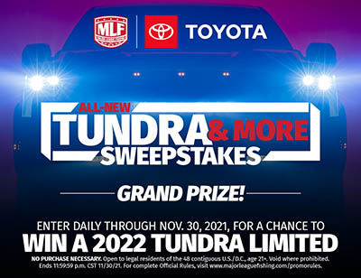 Win a 2022 Toyota Tundra from MLF