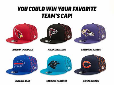 Win an NFL Team Cap