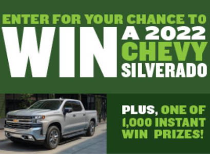 Win a 2022 Chevy Silverado from Campbell's
