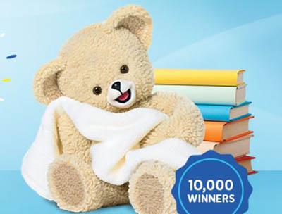 Win 1 of 10,000 Snuggle Bears