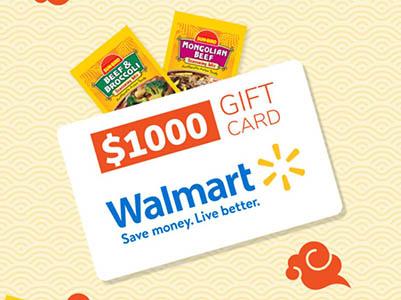 Win $1,000 Walmart Gift Card from Sun-Bird